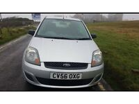56 FORD FIESTA 125 STYLE CLIMATE 3 DOOR IN MOONDUST SILVER ONLY 78K CHEAPER TAX & INSURANCE