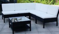 BRAND NEW RATTAN / WICKER GARDEN PATIO OUTDOOR SECTIONAL SET