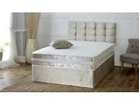 SALE✅Brand New Luxury Divan Beds With Mattress & FREE DELIVERY