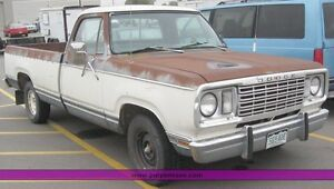 Looking for 1970s-1980s dodge trucks