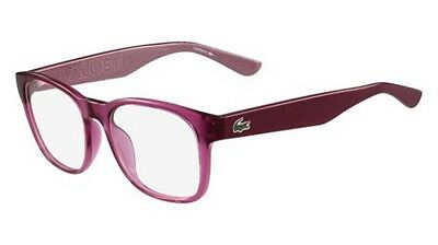 NEW LACOSTE L2772 539 52mm LADIES ORCHID EYEGLASSES OPHTHALMIC Rx FRAME