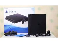 PS4 500gb Slim with GTA V - Owned for 6 weeks - Perfect Condition