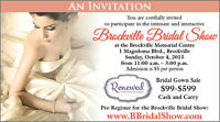 Brockville Bridal Show & Gown Sale
