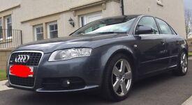 Audi A4 S-Line 2007 2.0L TDI **£3,600 for quick sale**