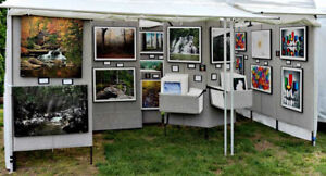Professional Display Booth - for Artists, Paintings, Trade shows