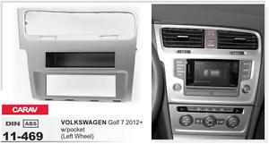 CARAV-11-469-1Din-Kit-de-instalacion-de-radio-VW-Golf-7-con-hueco-volante-izq