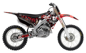 FACTORY EFFEX METAL MULISHA GRAPHICS KIT - HONDA CRF450R 2002-2004 _14-11332