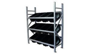 Longspan Bay - 12 Crate Picking Rack (Great for Storage Loganholme Logan Area Preview
