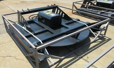 New Jct 72 Hydraulic Skid Steer Brush Cutter Bush Hog Rotary Mower Bobcat