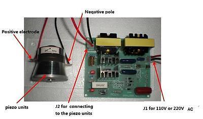 2pcs 50w 40k Transducers 1pcs Ac 220v Ultrasonic Cleaner Power Driver Board
