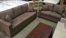 New 2pce Fabric Lounge, 3 seater + 2 seater, 2 colours. Marrickville Marrickville Area Preview