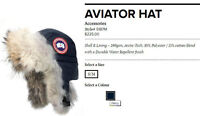 New Canada Goose AVIATOR HAT (BNWT)
