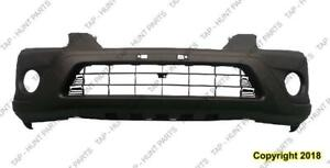 Bumper Front Ex Lx With Fog Light Hole Texured Black Honda CRV 2005-2006