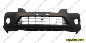 Bumper Front Ex Lx With Fog Hole Texured Black CAPA Honda CRV 2005-2006