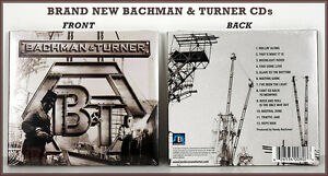 BACHMAN - TURNER CDs - NEW FACTORY SEALED!