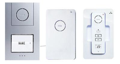 M-E AC210 Digitales AerCom Funk-Türsprechanlagen Set 1-Familienhaus-Set DECT