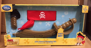Jake and the Neverland Pirates roleplay set sword costume