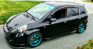 Highly modified 2007 Honda Fit Sport.