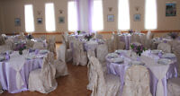 Wedding Decor- DRAPING, LINENS, CHAIR COVERS