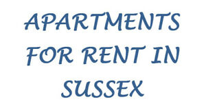 1-2-3 Bedroom Apartments For Rent In Sussex