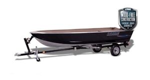 2017 Lowe Boats 1467 with Motor!