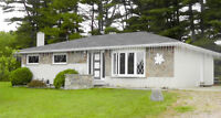 Classic White Brick 3-Bedroom Home on 3.5 Acres in French River