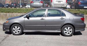 2007 Toyota Corolla Sports