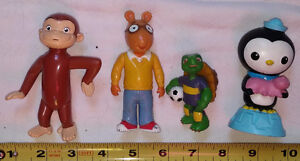 Arthur, Franklin Turtle, Curious George, Bubble Guppies TV Toons