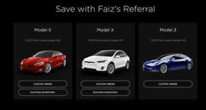 FREE SUPERCHARGER KMS Tesla Referral Code + $5000 Incentive