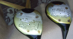 2 - Ping Eye 2 - Black Eye/Dot Woods (RH) - $38.00 For BOTH !!!