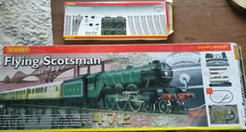 HORNBY Flying Scotsman Train Set with extra track & huge landscape mat