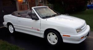 1991 Dodge Shadow Convertible Turbo