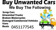 Unwanted Car Removals Sydney & Scrap Car Removal Westmead Parramatta Area Preview
