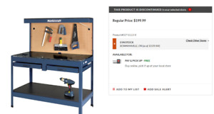 Master Craft Work bench for sale