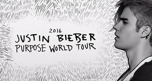 2 JUSTIN BIEBER MAY 16TH TICKET  nego