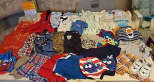 6-12 MONTHS CLOTHING AND MORE LOT