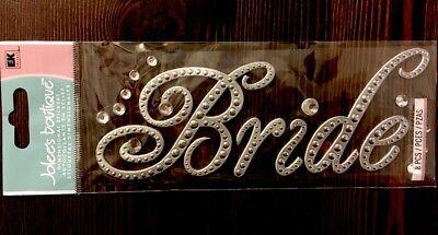 (Jolee's Boutique Gem Bride Wedding Sticker Title Embellishment )