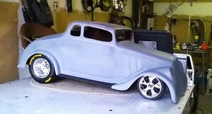 1/4 SCALE 1933 WILLYS COUPE FIBERGLASS BODY