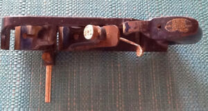 PLANE  blade width is  inch and a half.  Made in England. $65.