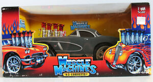 Muscle Machines '62 Corvette 1:18 Scale Diecast