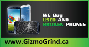 ►►►Used and broken iphones and androids----------