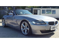 BMW Z4 2.0i MANUAL SE Roadster NEW SHAPE GREY CONVERTIBLE CAR
