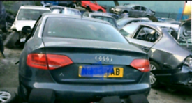 Audi a4 b8 b8.5 2.0 tdi s line cglc cjc cag breaking for spares 08-15