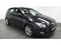2010(10)HYUNDAI i30 1.6CRDi PREMIUM BLACK,2 OWNER,FSH,£30 TAX,CLEAN CAR,GREAT VALUE