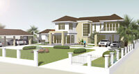 Full Website Design and Graphic Design 3d Architecture and photo