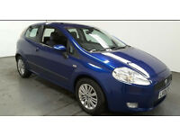 2006(06)FIAT GRANDE PUNTO 1.3 DIESEL DYNAMIC MET BLUE,LOW MILES,6 SPEED,NEW MOT,GREAT VALUE