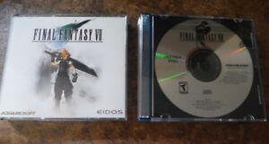 FREE SHIPPING Final Fantasy VII  PC français +  FF8  PC anglais