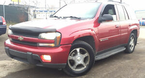 2004 Chevrolet Trailblazer LT 4x4 = LEATHER LOADED = GREAT SUV