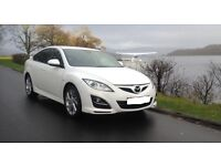 2010 MAZDA 6 2.2 D Takuya 5dr,White, Very High Spec,History, Immaculate, Priced For Quick Trade Sale