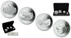 2004 Arctic Fox Fractional Silver Set